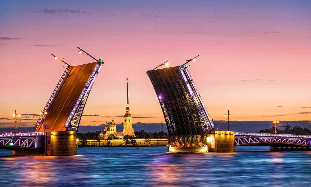 Просмотр разводных мостов